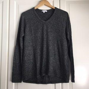 American Eagle Grey Plush Sweater